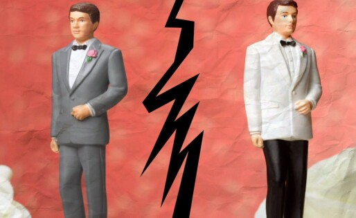 Homofile skiller seg oftere