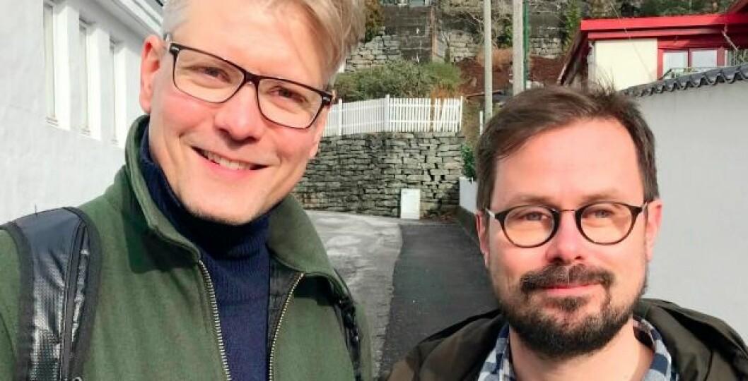 Bjørn André Widvey og Runar Jordåen i Skeivt Arkiv forteller om politiske lhbt+kamper og skeive enkeltskjebner, blant annet pioneren Dermot Mack.