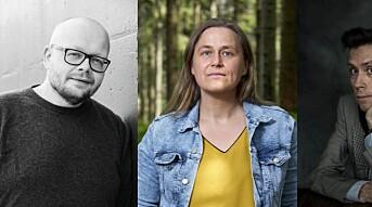 Fritt Ords Pris 2021 til Bjørn Hatterud, Jan Grue og Olaug Nilssen