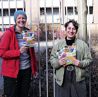 Bokas redaktører (f.v) Marianne Gulli i KUN og Begard Reza i Salam.