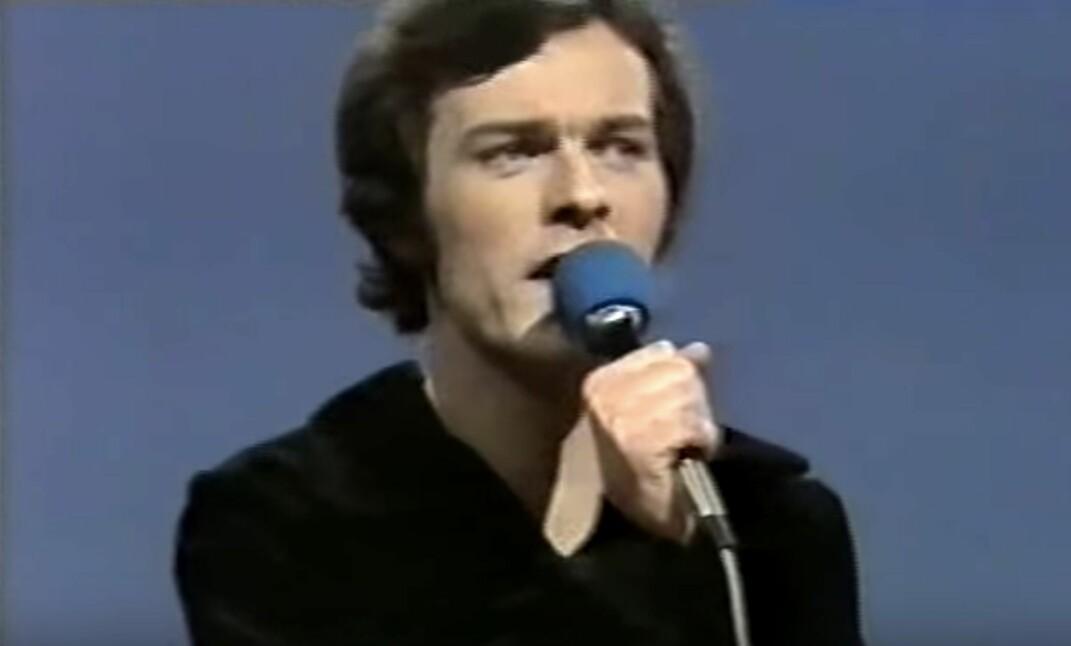 Axel Gran i Melodi Grand Prix 1977.
