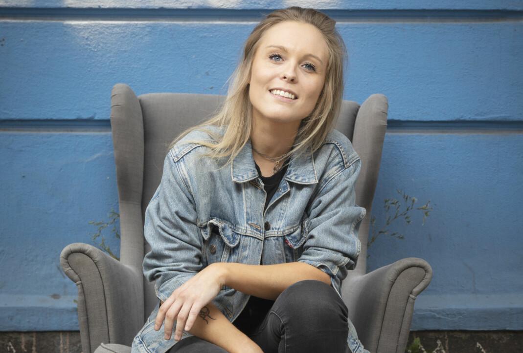 Vokalist Tora Dahle Aagård.