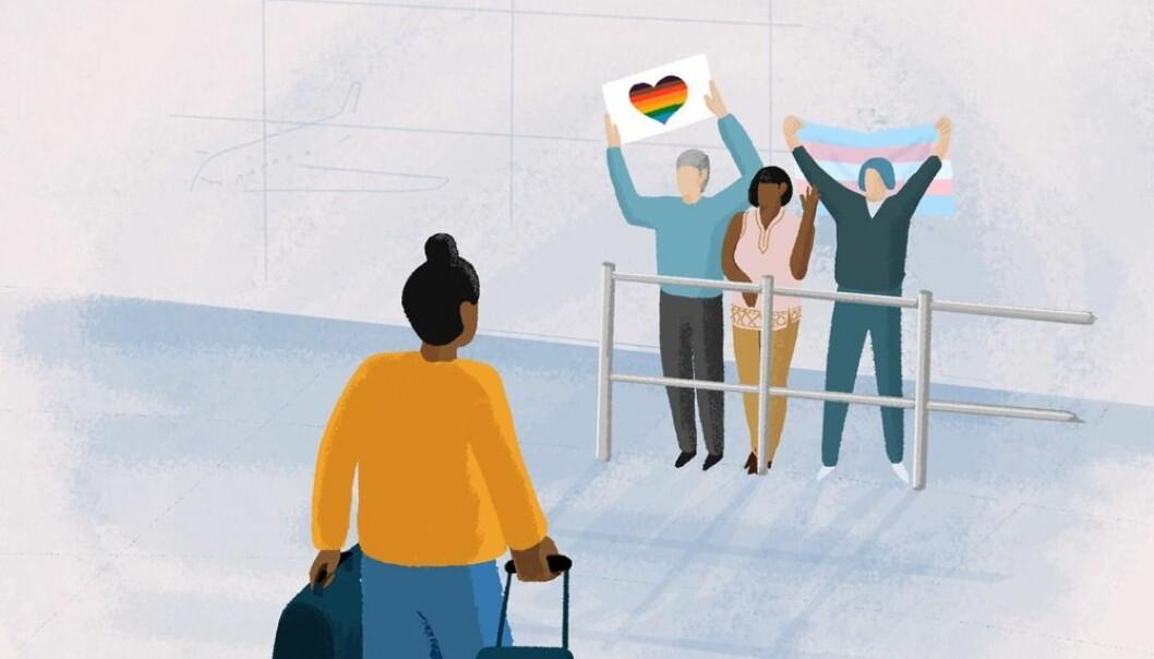 Illustrasjon fra kampanjen.