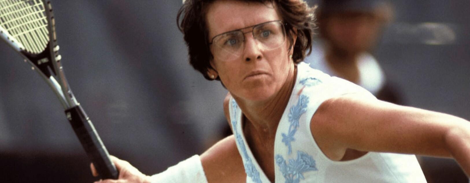 Den lesbiske tennislegenden Billie Jean King er et ikon for både homofile og feminister. Selv har hun Nelson Mandela som sitt forbilde.