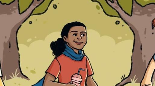 Den grafiske novellesamlingen «Skeiv» handler om skeive med minoritetsbakgrunn