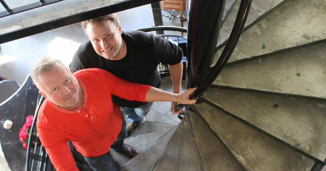 Bent og Jimmi skiller lag både som business- partnere og ektepar