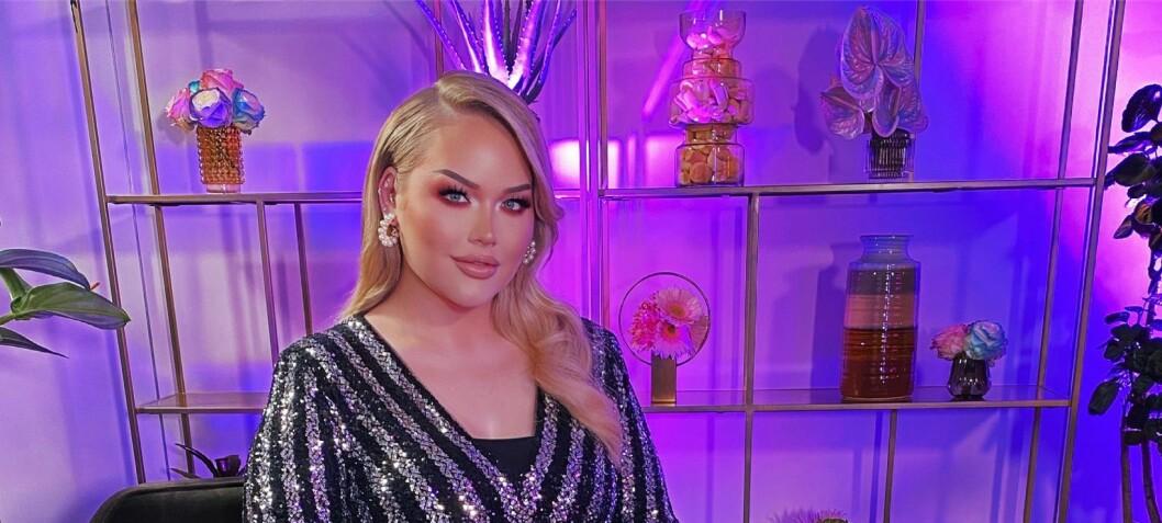 NikkieTutorials varmer opp til Eurovision med glitter, glamour og sladder i nytt talkshow