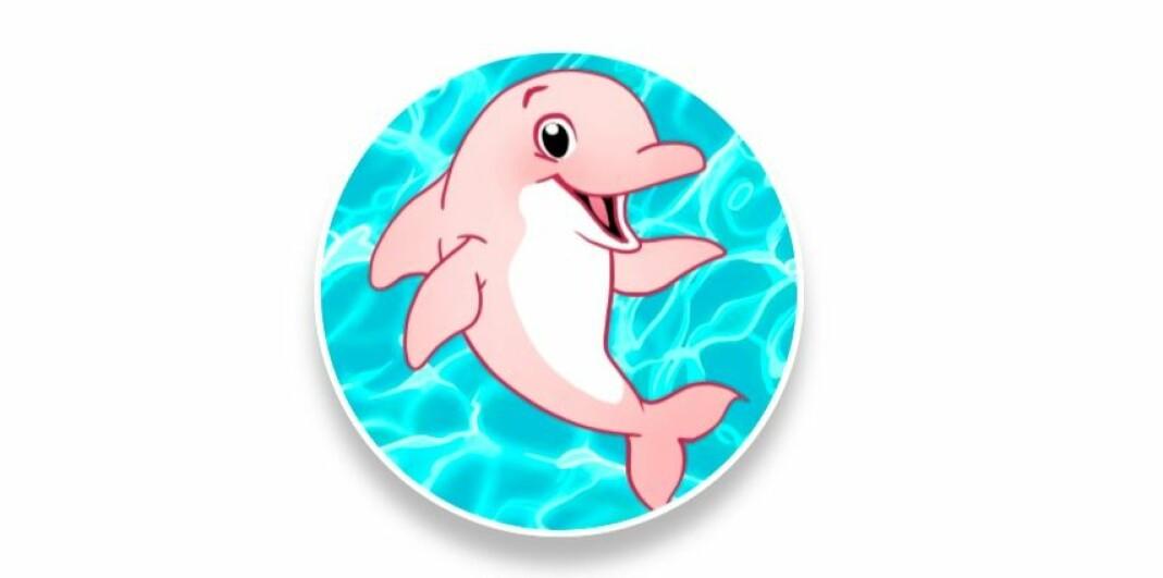 MYSTISK LOGO: En anonym representant fra prosjektet DICK sier delfinen kalles «den homofile haien» og i følge forskere har både mannlige og kvinnelige partnere.