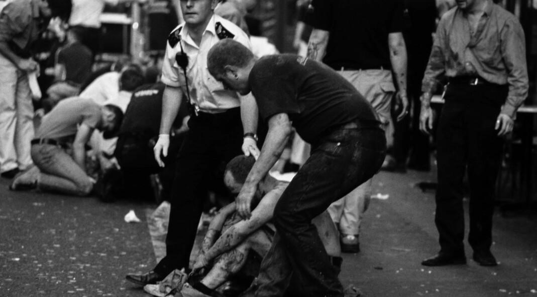 Tre døde og 70 ble skadet da nazisten David Copeland sprengte en spikerbombe i homopuben Admiral Duncan 30. april 1999.