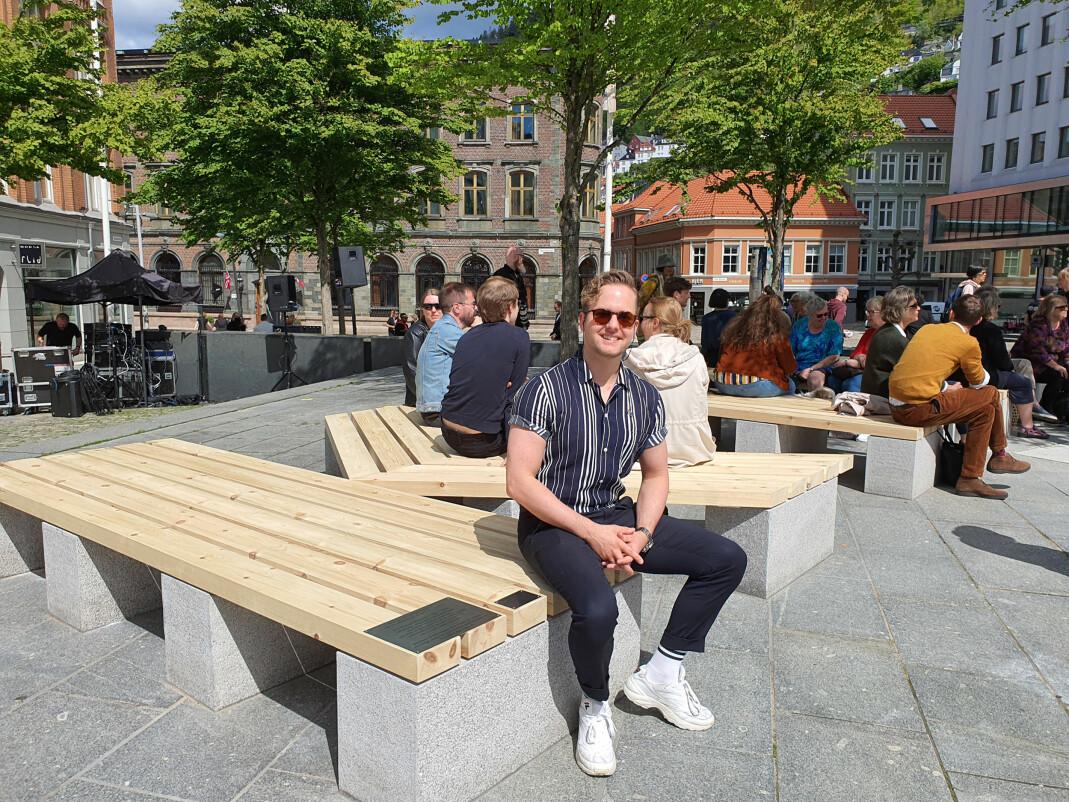 Joakim Aadland, leder av Regnbuedagene.