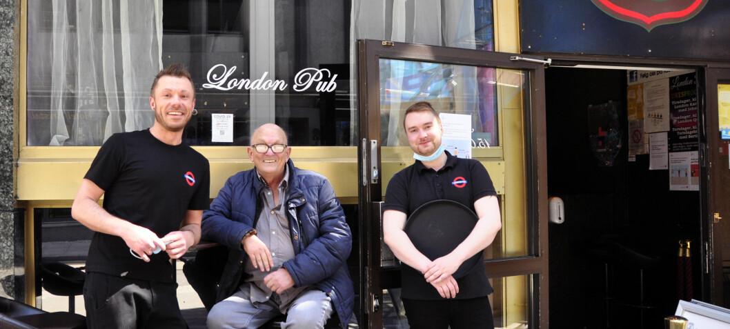 Gjenforening på London Pub