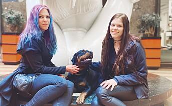 Emelie og Aleksandra fant hverandre på «Naked Attraction»