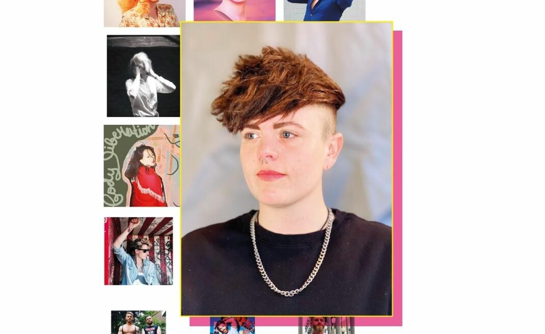 Ingrid Ormevik driver Instagram-profilen «Queer Fashion of Scandinavia»