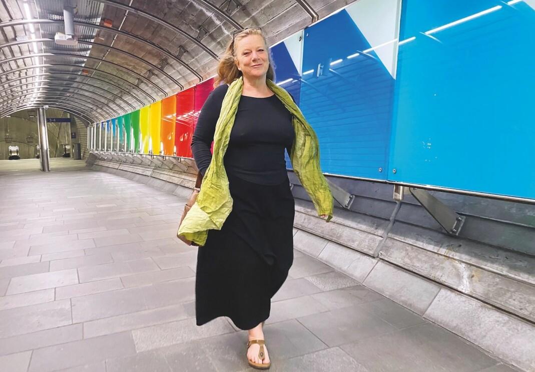 – At Norges internasjonale bidrag til lhbti-arbeid har gått fra 0 i året i 2004, til mer enn 30 millioner i året i 2021, er en suksesshistorie. Det hadde ikke skjedd uten vår innsats, sier Marna Eide, leder i Internasjonal avdeling i FRI.