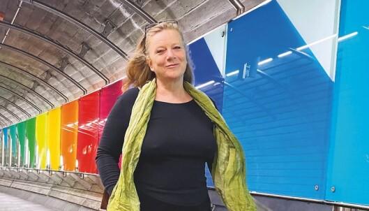 Marna Eide vil at Norge skal bruke det tidobbelte på skeives menneskerettigheter i verden