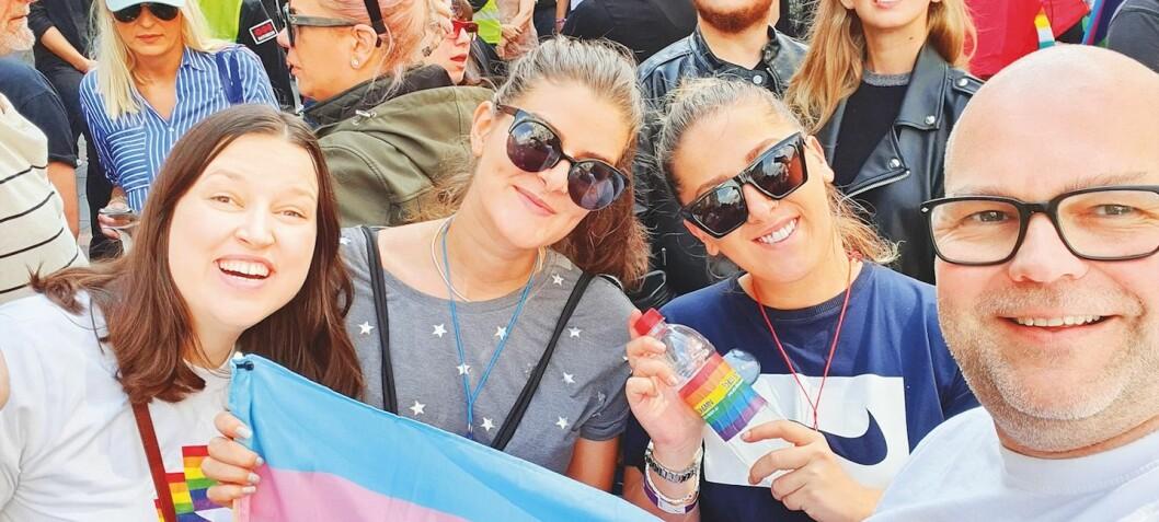 I frontlinjen for Pride i Europa