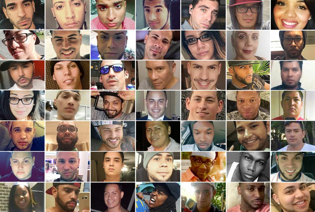 49 mennesker mistet livene sine i terrorangrepet på den skeive nattklubben Pulse i Orlando, 12. april 2016. Les navnene deres nederst i saken.