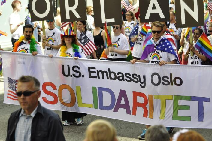 I 2016 var Prideparaden i Oslo sterkt preget av terrorangrepet som hadde funnet sted bare én uke før.
