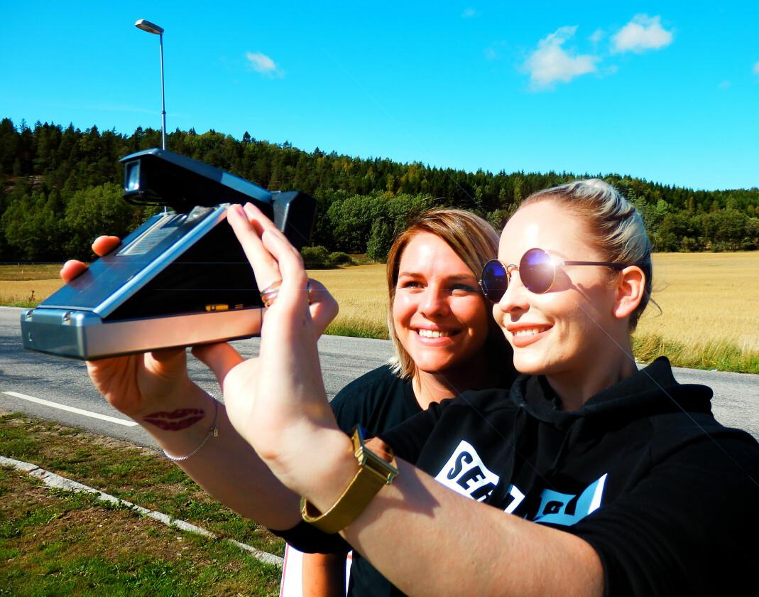 Bente Jørgensen og Martine Hammervold-Austinat.