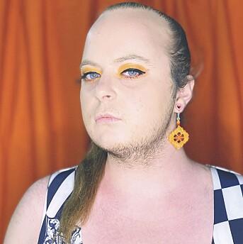 I begynnelsen brukte Christer André Sandberg Gudmundsdottir merkelappen «genderfuck» på seg selv.