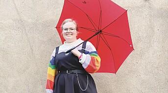 – Bedre at det er populært med regnbuer enn det motsatte