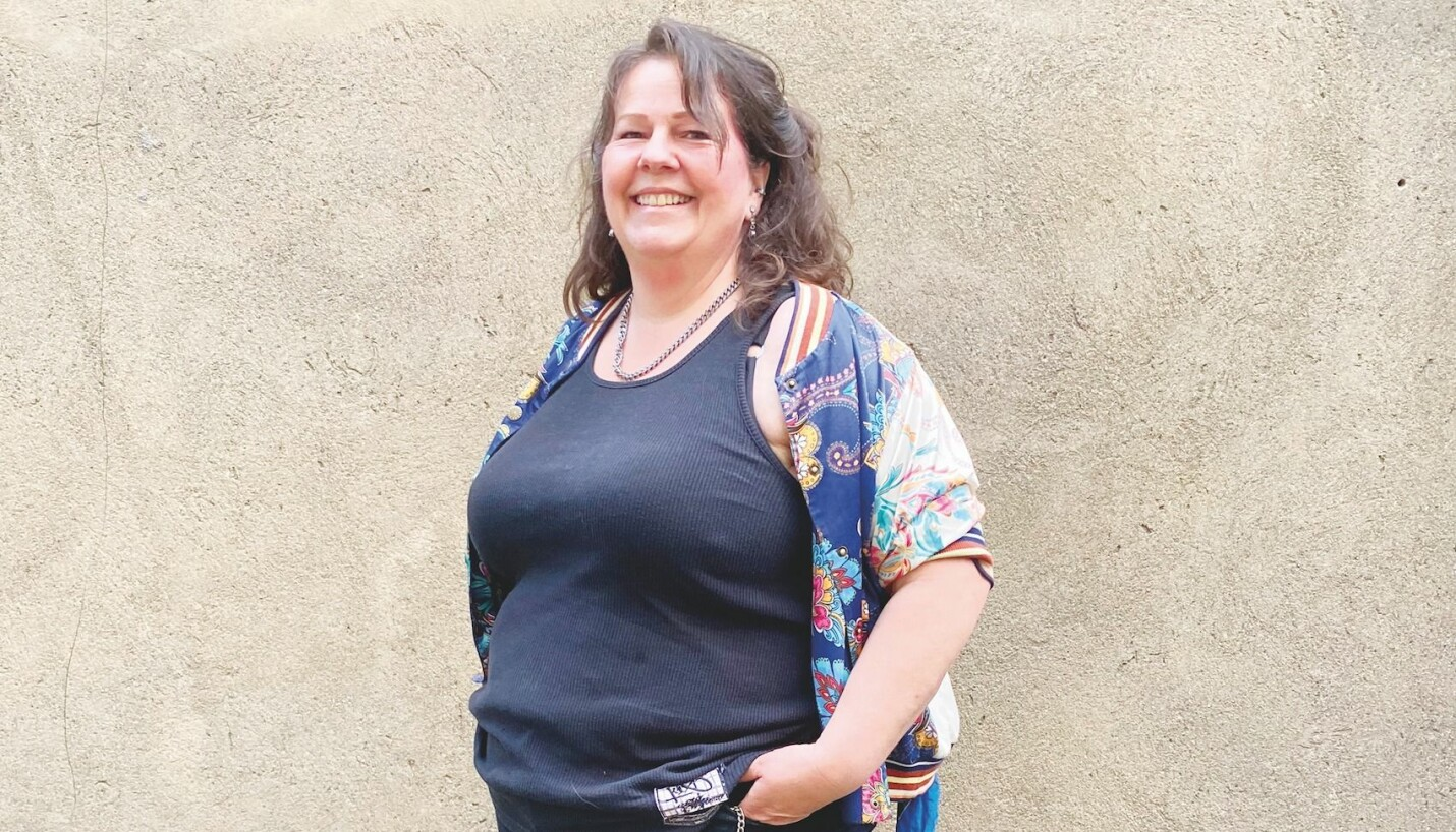 – Jeg ønsker å være et forbilde for de som ikke har tatt steget fram og blitt synlige ennå, sier Hanne Grasmo.