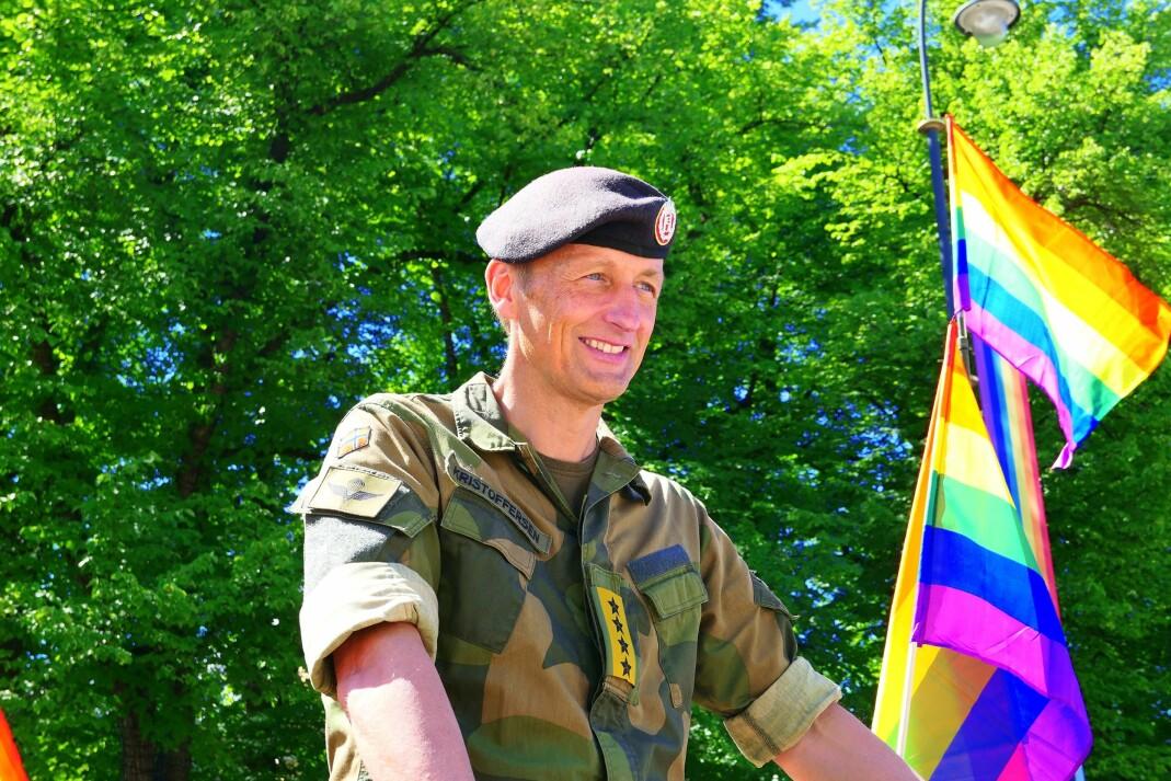 Forsvarssjef Eirik Kristoffersen.
