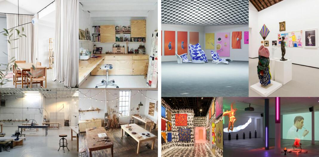 Illustrasjonsbilde av det nye skeive kunst- og kulturhuset.
