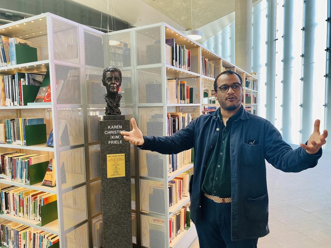 Byråd for kultur, idrett og frivillighet, Omar Samy Gamal (SV).