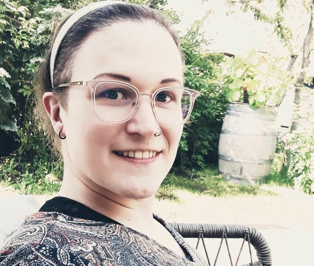 Miriam Aurora Hammeren Pedersen.