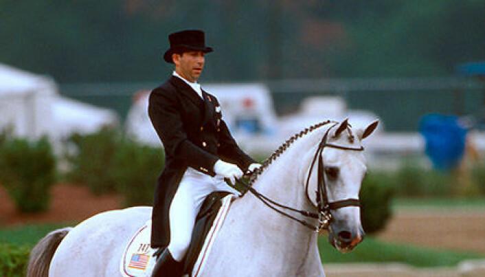 Han var OLs første åpne utøver