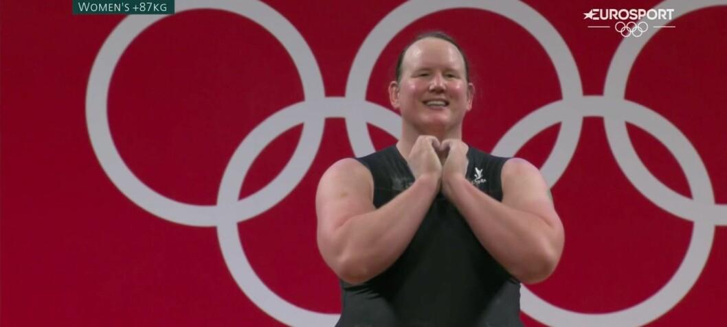 Hubbard ble første transkvinne i OL