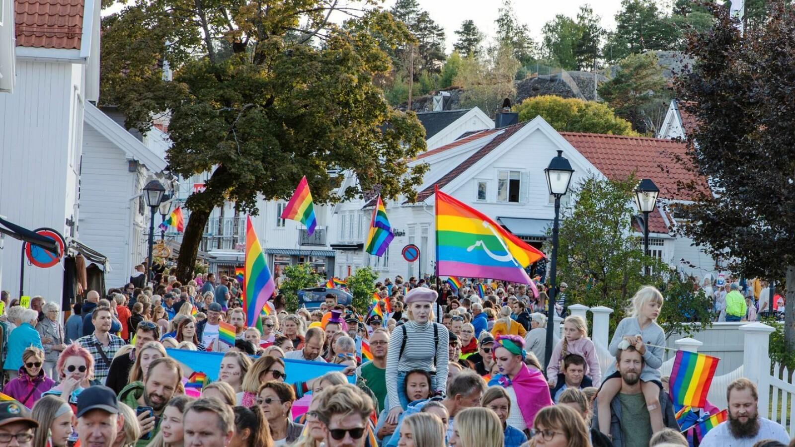 Lillesand Pride.