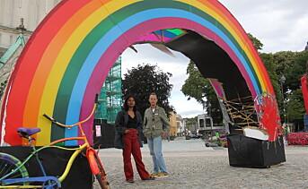 Møter hærværk med kjærlighet i Kristiansand