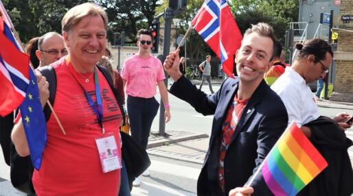 WorldPride-paradene satte farge på København