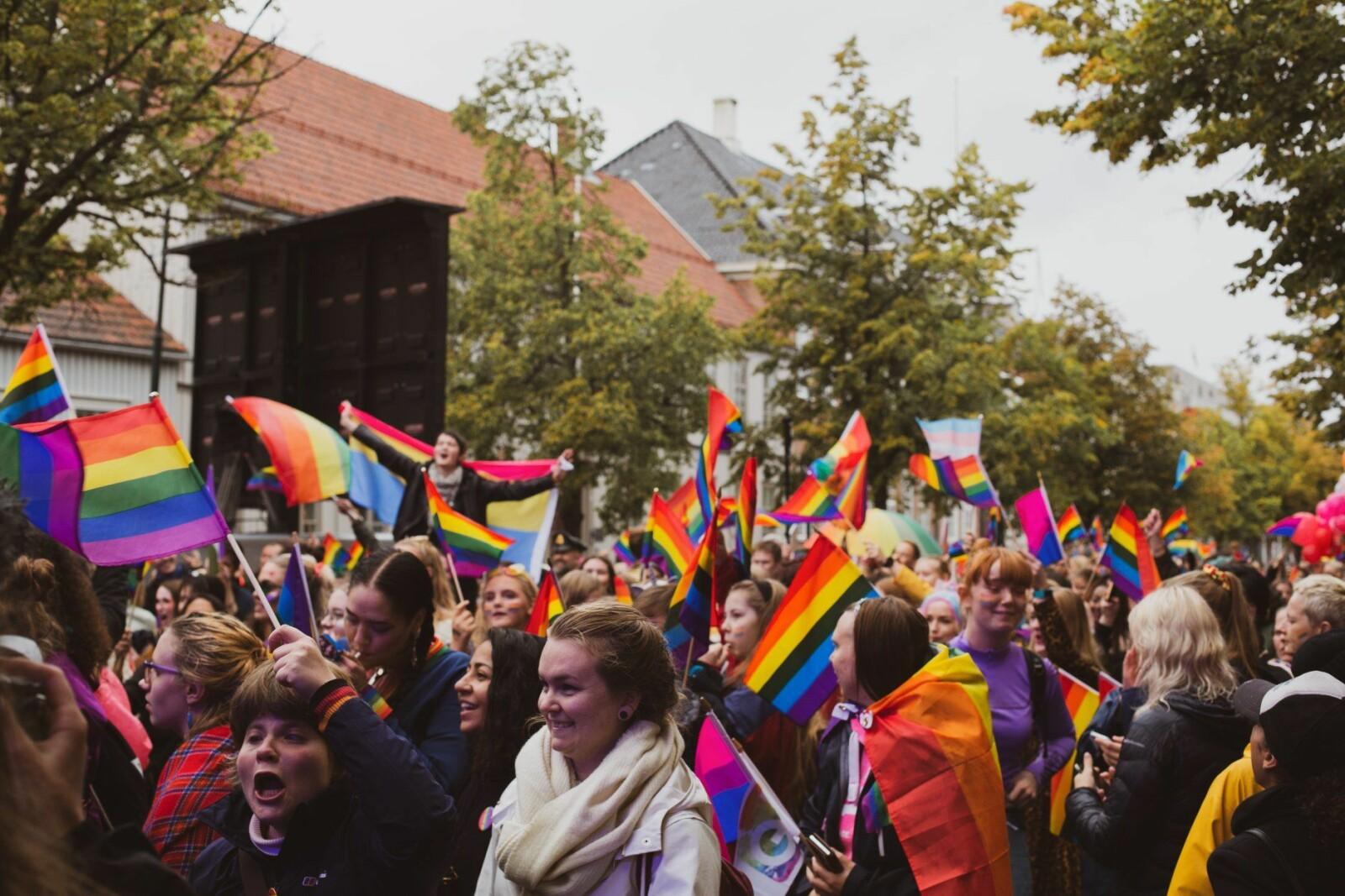 Det var god stemning under Trondheim Pride i 2019. I 2021 forventer vi intet mindre.