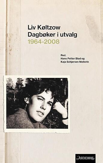 Liv Køltzows litterære utvikling, hennes tanker om kvinnerollen, og hvordan hun rammes av Parkinsons sykdom, utgjør hovedlinjene i «Dagbøker i utvalg 1964-2008».