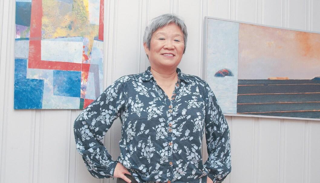 Anne Kyong Sook Øfsti, førsteamanuensis ved Fakultet for sosialfag ved VID vitenskapelige høgskole i Oslo, er også parterapeut og forfatter.