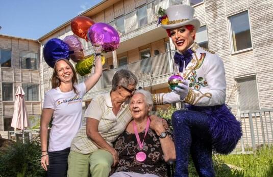 Norskeid selskap starter Sveriges første regnbueavdeling for eldre