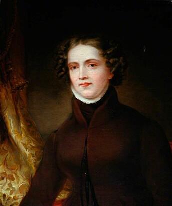 Portrett av Anne Lister (1791-1840) fra rundt 1830, malt av Joshua Horner.