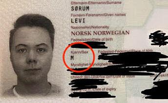 Denne «M»-en i Levis pass gjør at han ikke får donere eggene sine til en partner.